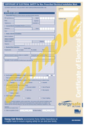 Great electrician offer Certificates of Electrical Safety